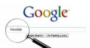 Биткойн в топе поисковых запросов согласно Google —