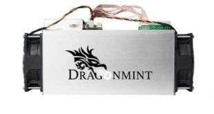 Новый DragonMint В29 (2.1 TH/s Blake256) от Halong Mining
