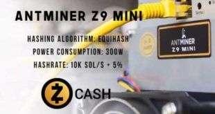 BITMAIN анонсировала новый ANTMINER Z9