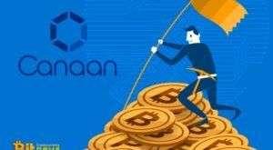 Майнинговый гигант Canaan привлек $90 миллионов посредством IPO