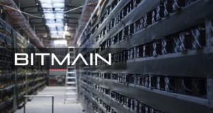 Майнинговые мощности Bitmain упали до минимальной отметки