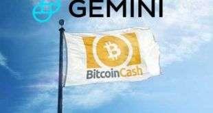 Bitcoin Cash будет добавлен на криптовалютную биржу Gemini