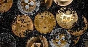 Криптовалюта Биткоин опустилась ниже уровня 6.772,2, падение составило 0,77%