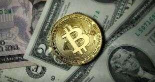 Криптовалюта Биткоин поднялась выше $10.031,5, показав рост на 9%