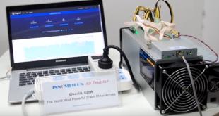 Новый асик-майнер A9 ZMaster на алгоритме Equihash от Innosilicon