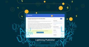 Lightning Publisher для WordPress предоставит пользователям возможность запустить свои издания