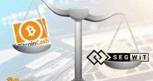Segregated Witness популярнеекриптовалютыBitcoin Cash