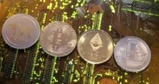 Криптовалюта Рипл подросла на 22%